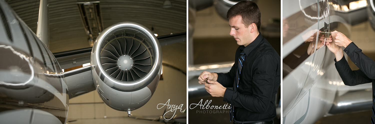 { Engaged } Luci & Matthew | Indianapolis Airport Engagement Photography | http://www.AnyaAlbonetti.com