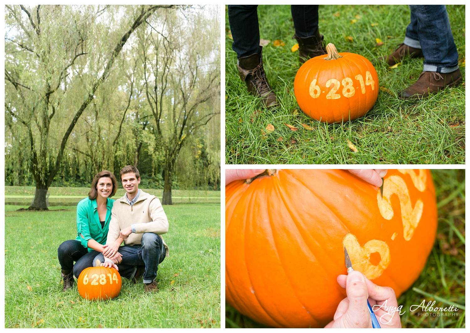 Indianapolis Engagement Photography | Pumpkin
